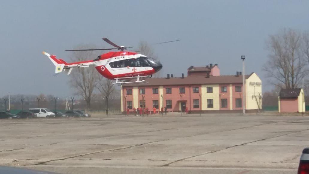 На Львівщині розпочала чергування санітарна бригада Авіаційної системи МВС, фото-2