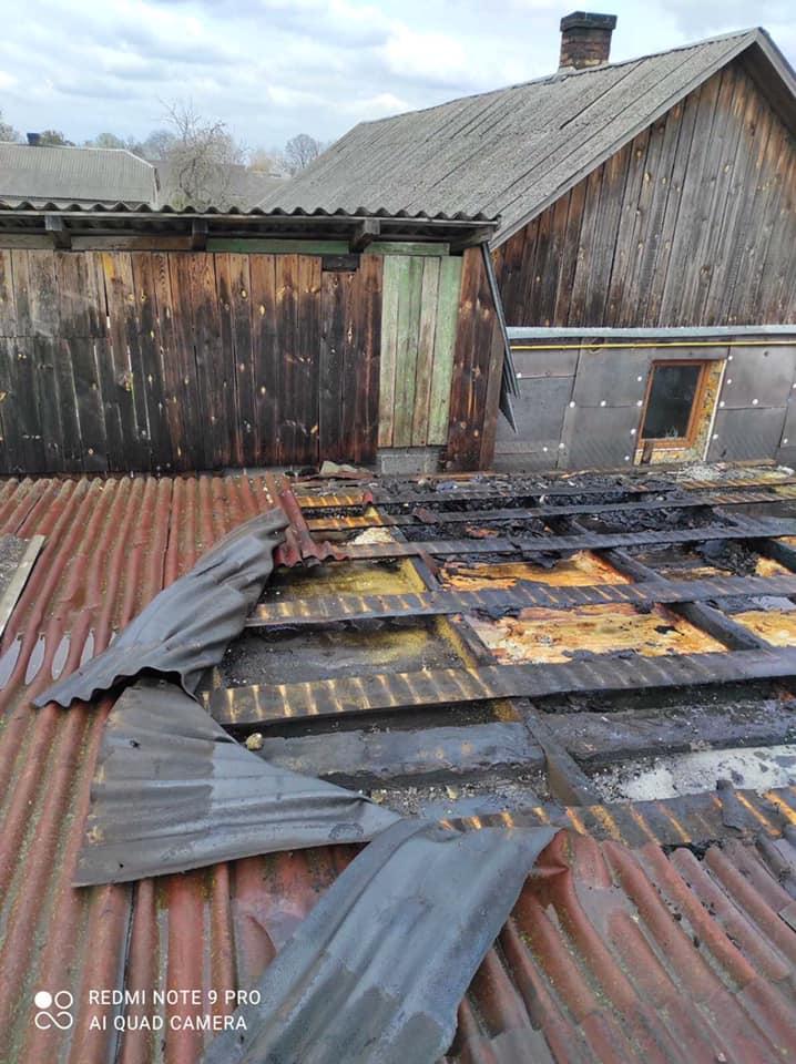 У Стрийському районі вогнеборці ліквідували займання в господарській будівлі, фото-1