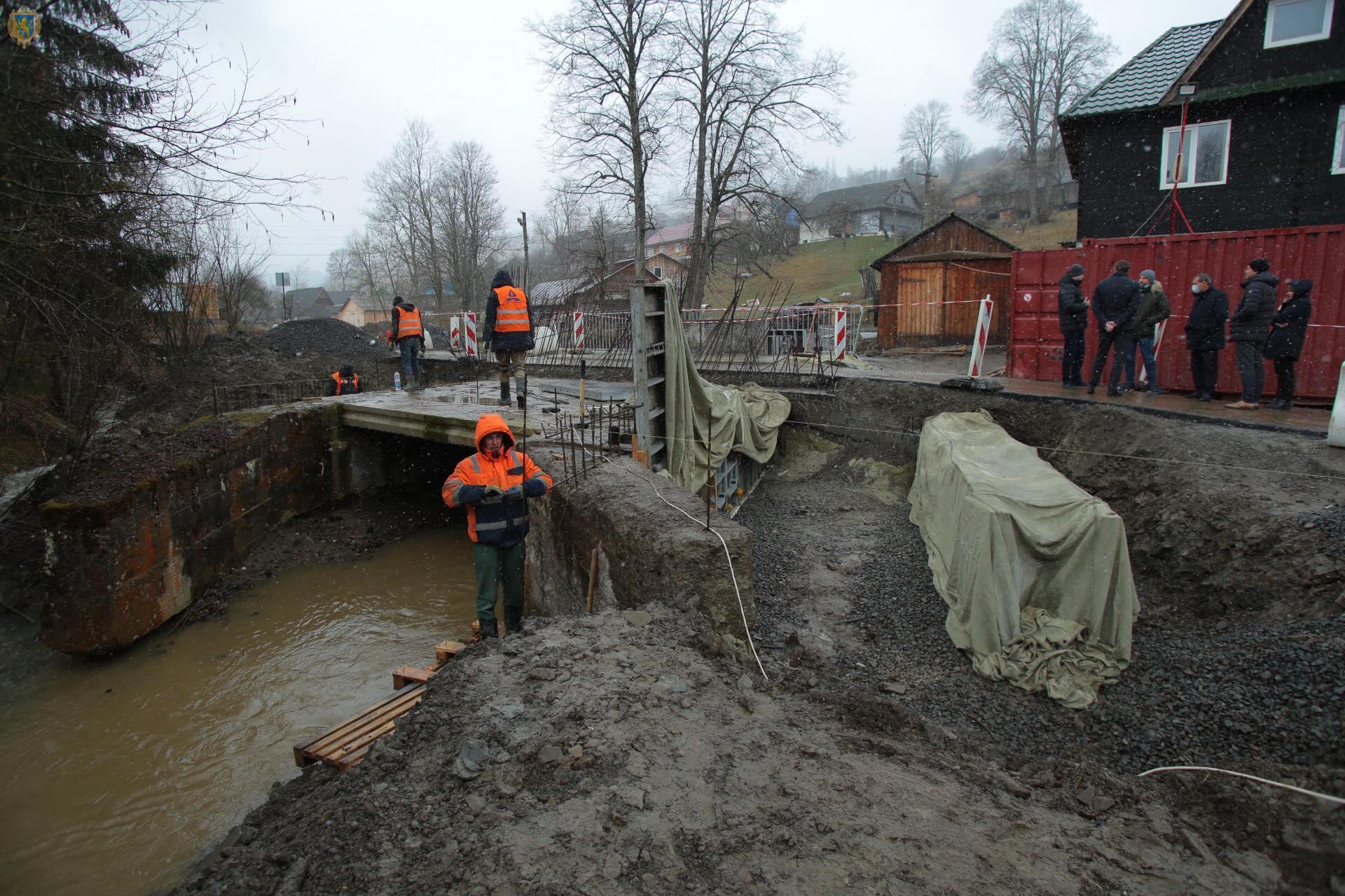 На дорогах Стрийщини триває ремонт двох мостів, фото-3