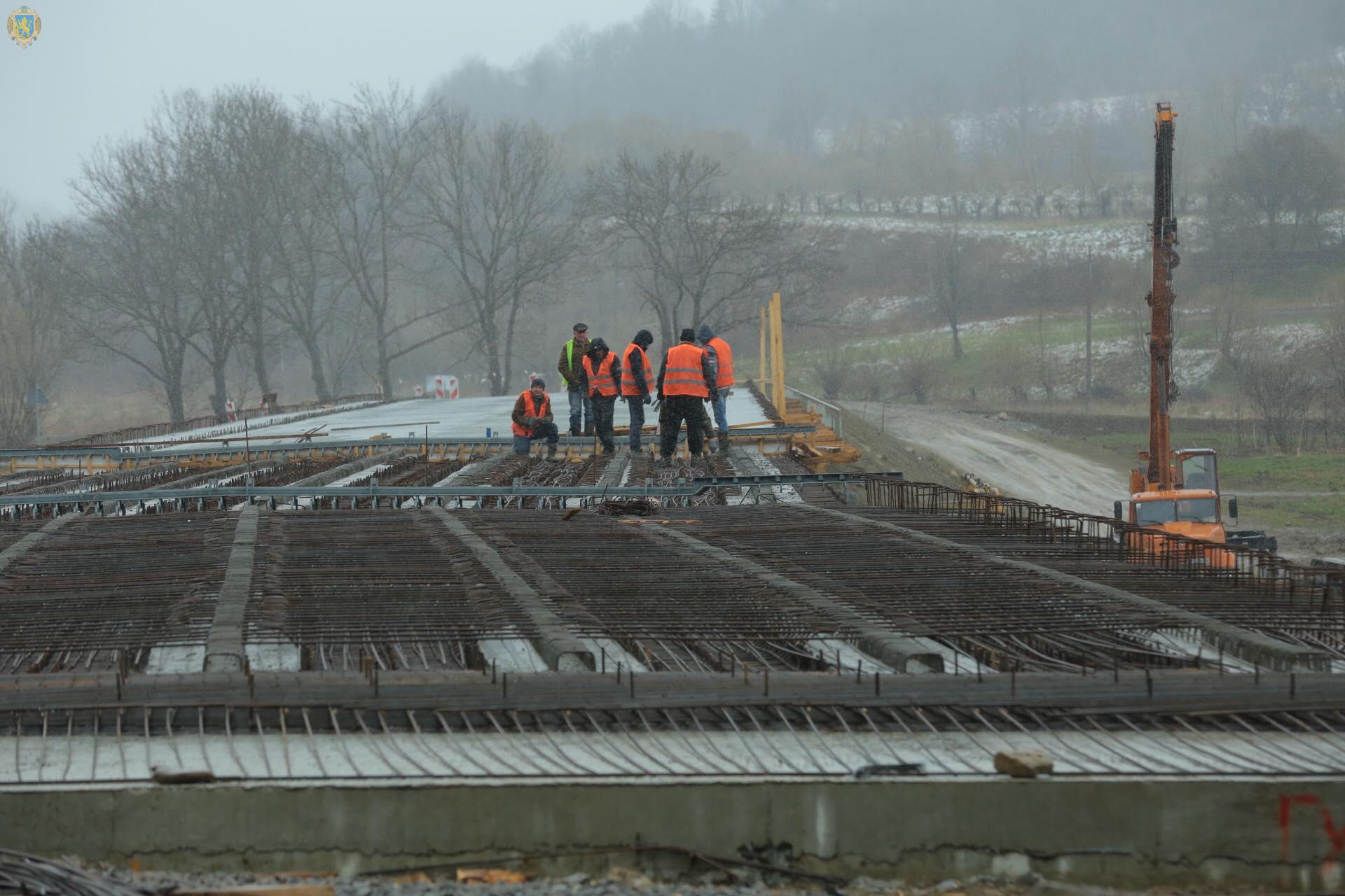 На дорогах Стрийщини триває ремонт двох мостів, фото-1