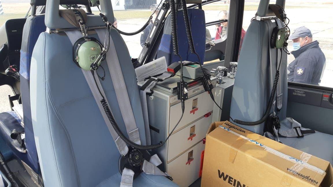 На Львівщині розпочала чергування санітарна бригада Авіаційної системи МВС, фото-3